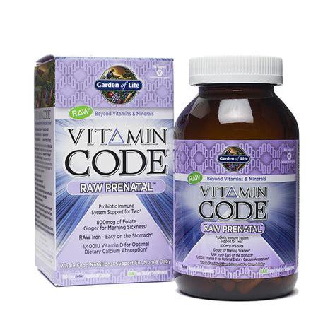 garden of vitamin code prenatal vitamin code 174 prenatal by garden of thrive market