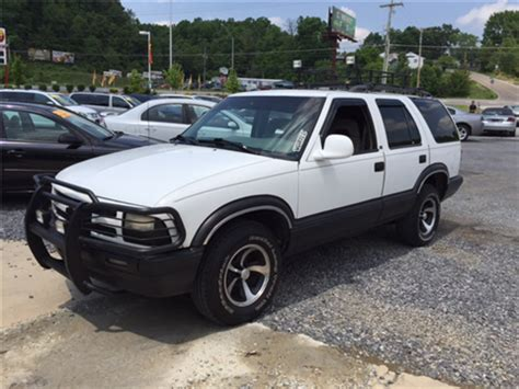 Chevrolet Blazer For Sale by 1997 Chevrolet Blazer For Sale Carsforsale
