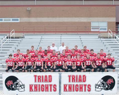 triad high school boys freshman football fall schedule