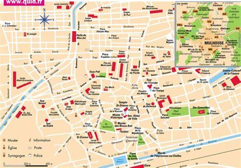maison des delices mulhouse carte plan de mulhouse et carte g 233 ographique de mulhouse