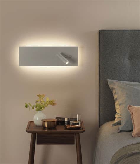 white bedside wall light white led bedside wall light with reading light