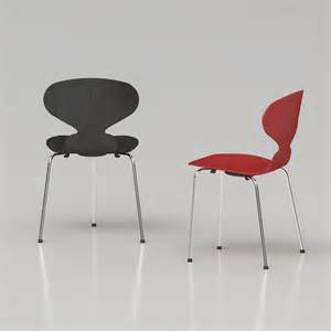 5 dining room sets 3d arne jacobsen ant chair high quality 3d models