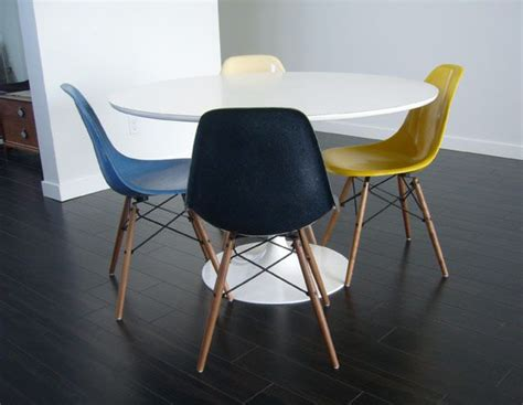 eames shell chairs restored plastolux