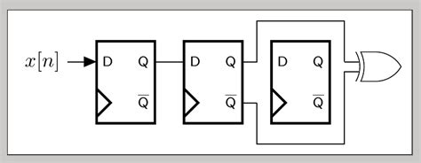 Tikz Pgf Drawing Line Around Obstacle Circuit Diagram