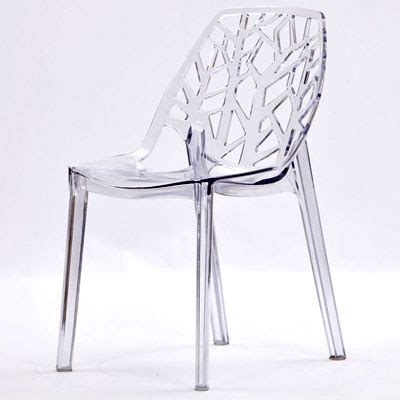 perspex acrylic chair chairs contemporary perspex