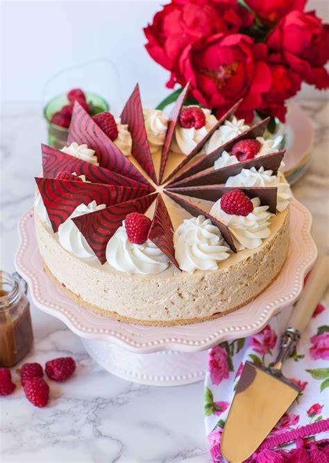 raspberry caramel mousse cake video tatyanas everyday food