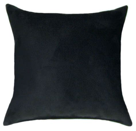 Black Throw Pillows by Black Suede Throw Pillow Sofa Pillow Accent Pillow Sale