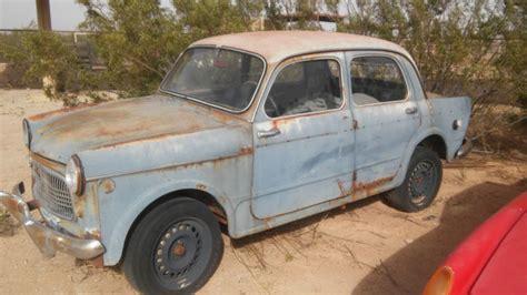 Fiat Parts Usa by 1959 Fiat 1100 Doors Project Parts Car Quot No
