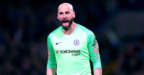 willy caballero reveals  chelsea number  kepa