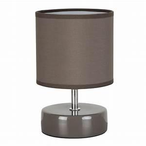 Lampe De Chevet Dorée : lampe de chevet taupe pas cher en vente sur lampe avenue ~ Dailycaller-alerts.com Idées de Décoration
