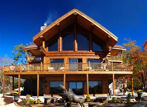 bryson city cabins secluded luxury lodge with mountain views bryson city nc