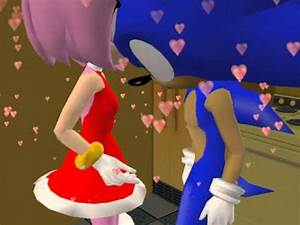 The Sims 2 - Sonic the Hedgehog and Amy Rose's first kiss ...
