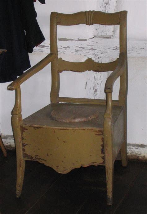 chaises percées de toilette potty chair