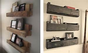 Décoration Murale En Bois : d tournez le bois pour votre d co tag res murales en ~ Dailycaller-alerts.com Idées de Décoration