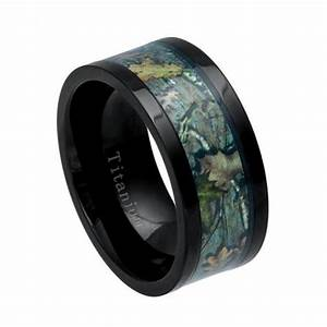 cool mens gift titanium ring mens wedding ring camo With mens car wedding rings