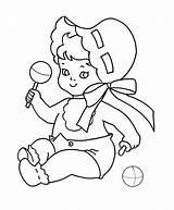 Coloring Printable Cartoon Babies Bestcoloringpagesforkids Sheets Preschool Shape Mystery Worksheets Drawing Born Popular sketch template