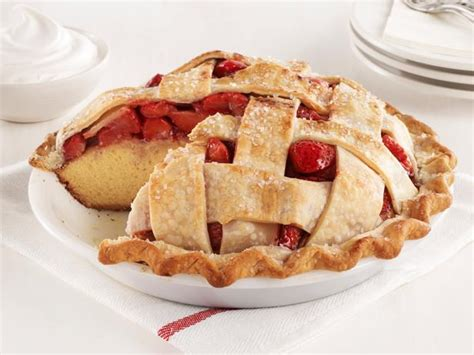 cakes and pies strawberry pie cake recipe food network kitchen food network