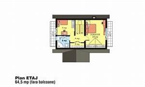 Case cu mansarda sub 150 de metri patrati