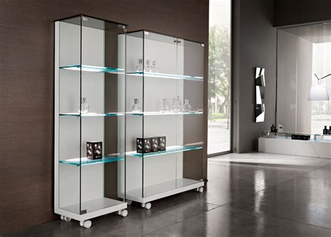 Glass Cupboard by Tonelli Medora Glass Cabinet Tonelli Design