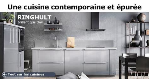 cuisine ikea gris brillant ikea vélizy cuisine et salle de bain ikea