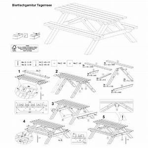 Geräteschuppen Selber Bauen Pdf : picknicktisch aus holz biergartengarnitur ~ Michelbontemps.com Haus und Dekorationen