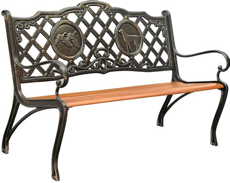 Iron Park Benches by Innova Hearth And Home Cast Iron Park Bench Ebay