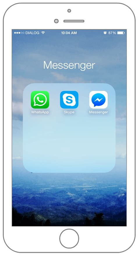 iphone messaging app what s on my iphone get a personal look at my iphone 6