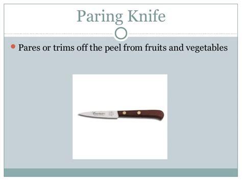 Foods 2 Knife Skills Ppt(1