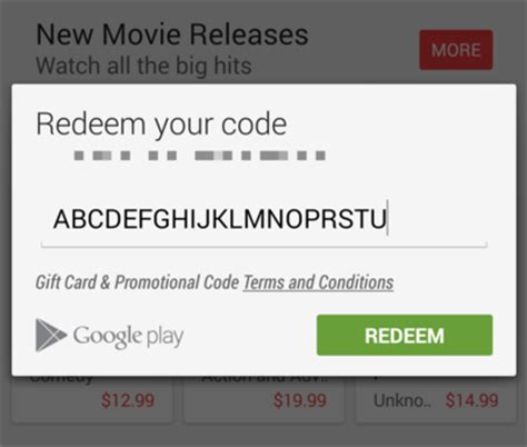 Use A Google Play  Ee  Gift Ee    Ee  Card Ee   Android Central