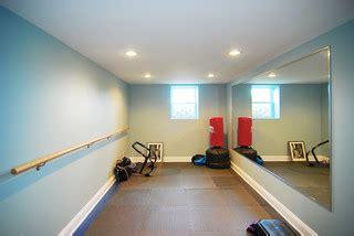 exercise room traditional home gym  york  home design center