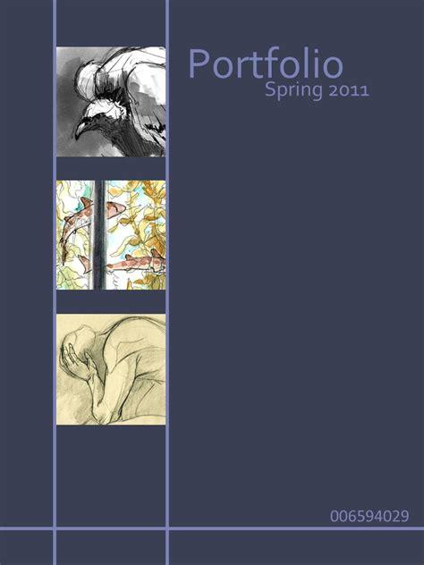 portfolio cover page template playbestonlinegames