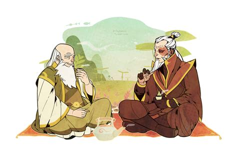 Visiting Uncle Iroh. By Freestarisis On Deviantart