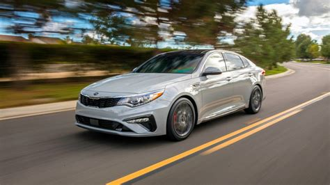 The 2019 Kia Optima Gets A Beefy New Look  The Drive