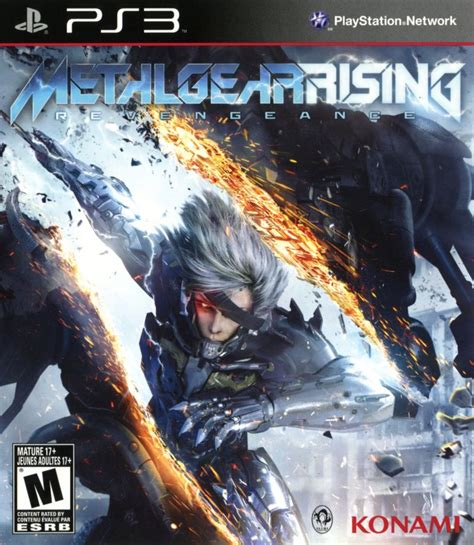 Metal Gear Rising Cover by Metal Gear Rising Revengeance For Playstation 3 2013