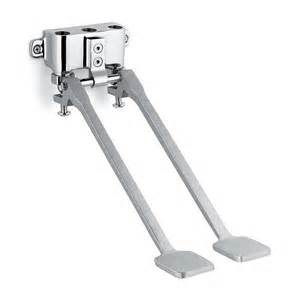 speakman s 3219 mounted double foot pedal valve faucet