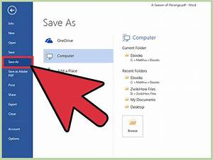 How to Edit PDFs in Microsoft Office: 6 Steps (with Pictures)
