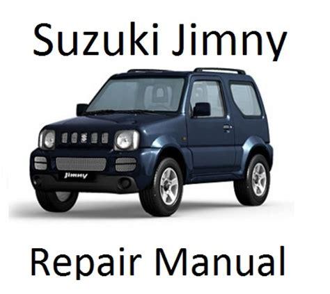 free car repair manuals 1992 suzuki swift security system suzuki jimny 1998 2013 service repair manuals