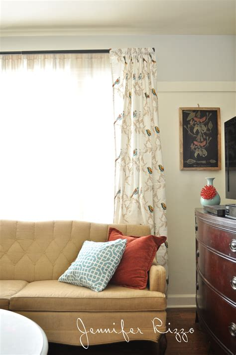 make diy curtains from target tablecloths in an