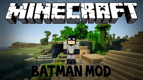 Minecraft Batman Mod Youtube
