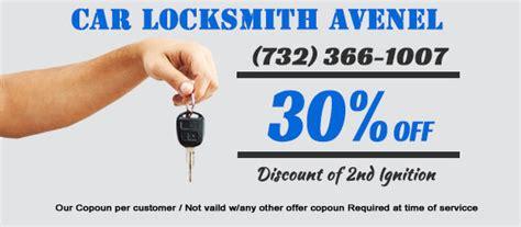 car locksmith avenel nj transponder key service