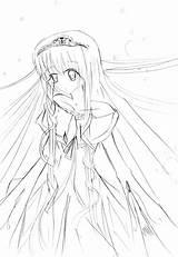 Coloring Anime Sad Getdrawings Printable Getcolorings sketch template