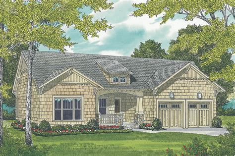 bdrm bungalow craftsman house plan