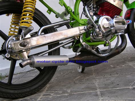 Jual Motor Modifikasi Trail by 80 Modifikasi Motor Supra X 100cc Trail Modifikasi Trail
