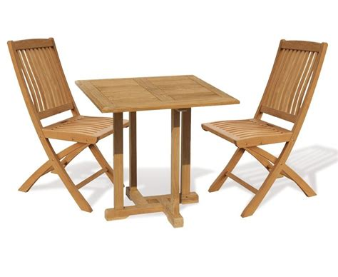 square table and chairs canfield 2 seater teak square garden table and bali
