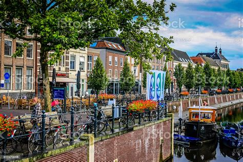 The Dutch Town Of Breda In The Netherlands Stock Photo ...