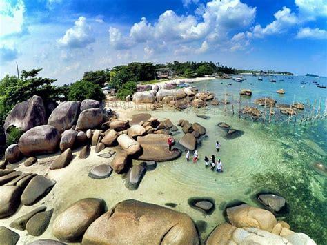 wisata bangka belitung  indah asalnya puteri