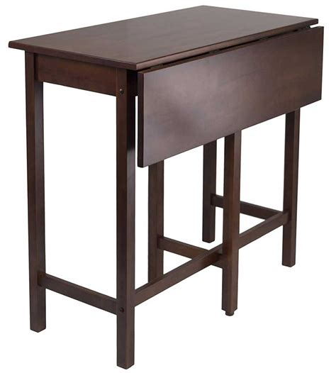 drop leaf high table drop leaf high table by winsome 94149 in dining tables