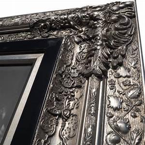 Großer Wandspiegel Silber : grosser barock wandspiegel laura silber 101x191cm edler ankleidespiegel eur 299 00 ~ Markanthonyermac.com Haus und Dekorationen