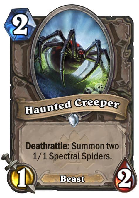 hearthstone beast deck 2014 haunted creeper hearthstone card