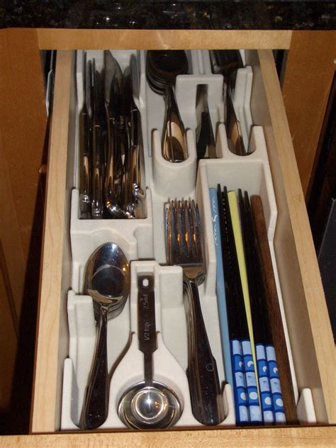 Kitchen Organizer Ideas - the silverware tray of tomorrow